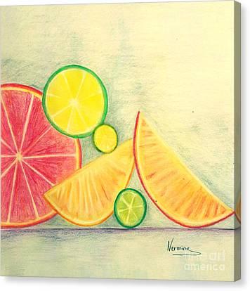 Citrus Fruits Canvas Print