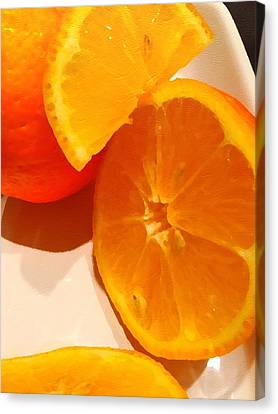 Restaurant Es Canvas Print - Citrus by Judy Bernier