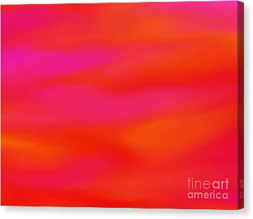 Citrus Skies Canvas Print by Roxy Riou