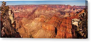 City - Arizona - Grand Canyon - The Great Grand View Canvas Print by Mike Savad