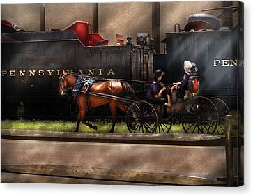 City - Lancaster Pa - You Got To Love Lancaster Canvas Print by Mike Savad