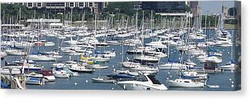 City Boats II Canvas Print