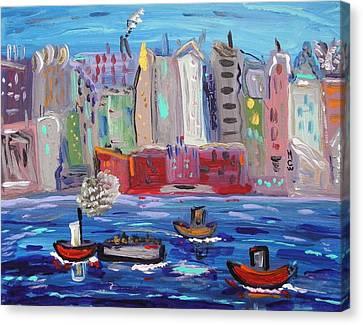 City City City Canvas Print