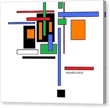 City Colors 2 Canvas Print by B L Qualls