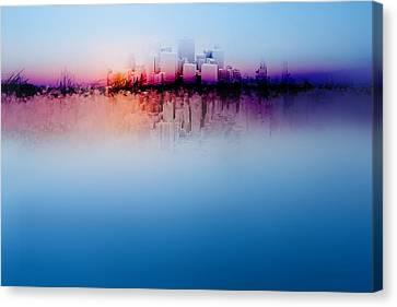 City Dream Canvas Print by Terry Davis