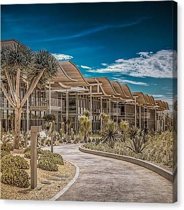 Newport Beach California City Hall Canvas Print by TC Morgan