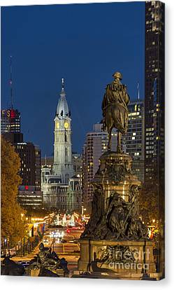City Hall Philadelphia Canvas Print by John Greim