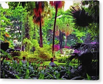 City Jungle 2 Canvas Print by Steve Ohlsen