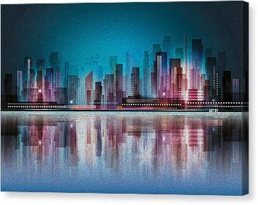Kiran Kumar Canvas Print - City by Kiran Kumar