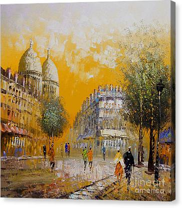 City Landscape Canvas Print by Gull G