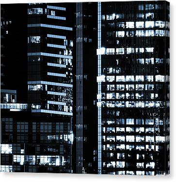 City Lights Canvas Print by Gary Street