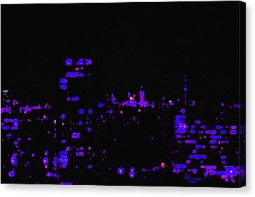Toronto City Lights Canvas Print