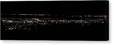 City Lights Canvas Print by Michael Grubb