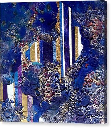 City Mirage Canvas Print by Lynda Stevens