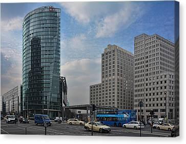 City Of Berlin Canvas Print