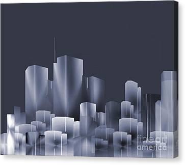 City Of Light 7 Canvas Print