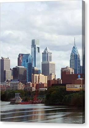 City Of Philadelphia Canvas Print