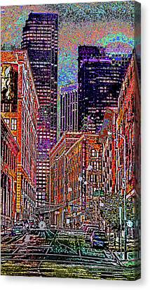 City Perspective  Canvas Print by Kenneth James