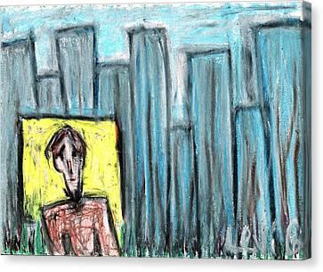 City Roots Canvas Print by Levi Glassrock