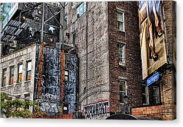 City Scenes Nyc Canvas Print by Steve Archbold