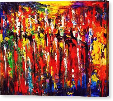 City. Series Colorscapes. Canvas Print