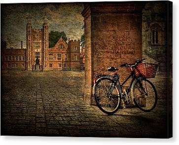 City Wheels Canvas Print by Evelina Kremsdorf