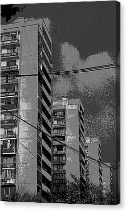 City Canvas Print by Yavor Kanchev