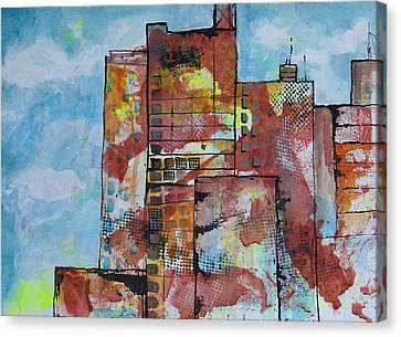Cityscape 230 Canvas Print by Karin Husty