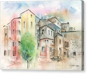 Cityscape Canvas Print by Arline Wagner
