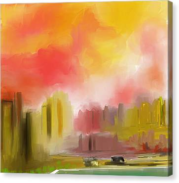 Cityscape Canvas Print by David Lane