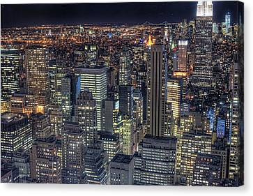 Aerial View Canvas Print - Cityscape by Jason Pierce Photography (jasonpiercephotography.com)