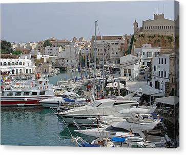 Ciutadella Marina Canvas Print by Rod Johnson