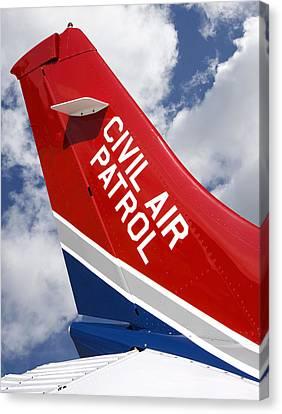Civil Air Patrol Aircraft Canvas Print