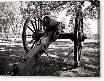 Civil War Cannon Canvas Print by Edward Myers