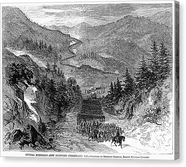 Civil War: Cumberland Gap Canvas Print