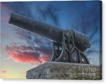 Civil War Parrott Cannon Canvas Print
