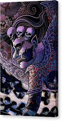Claiming Lost Souls  Canvas Print