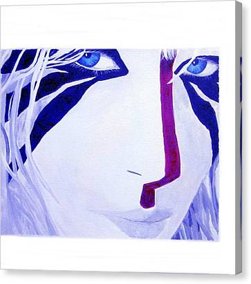 Ayla Canvas Print - Clan Of The Cave Bear by Ruby Dubin