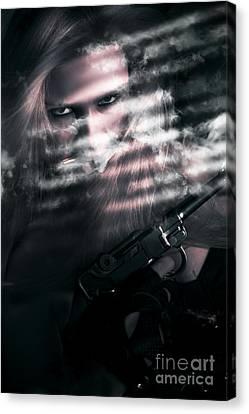 Clandestine Secret Agent Canvas Print by Jorgo Photography - Wall Art Gallery