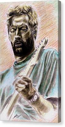 Clapton Canvas Print by Kathleen Kelly Thompson
