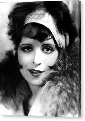 Clara Bow, Ca 1927 Canvas Print by Everett