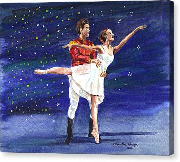 Clara's Nutcracker Canvas Print