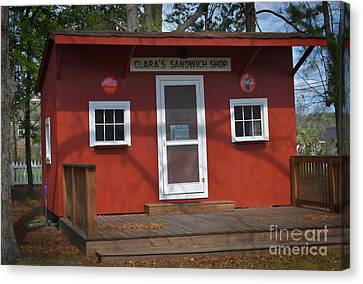 Blythewood Canvas Print - Clara's Place by Skip Willits