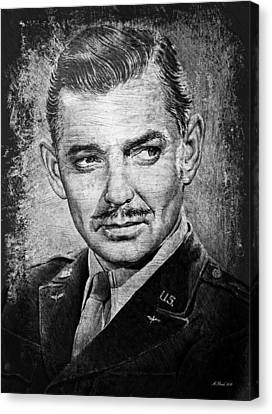Clark Gable Canvas Print by Andrew Read