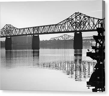 Clark Memorial Bridge I Canvas Print by Steven Ainsworth