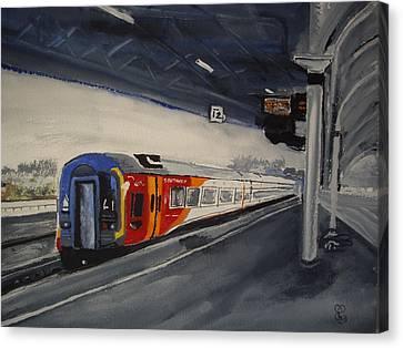 Class 159 Bristol Temple Meads Canvas Print