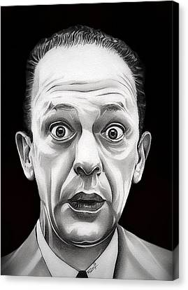The Andy Griffith Show Canvas Print - Classic Barney Fife by Fred Larucci