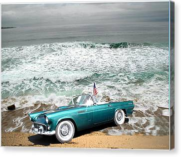 Classic Beauty At Asilomar Canvas Print by Joyce Dickens