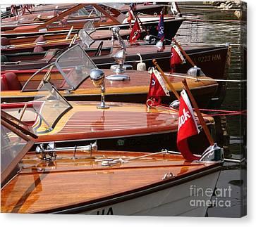 Classic Boats Canvas Print