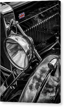 Canvas Print featuring the photograph Classic Britsh Mg by Adrian Evans